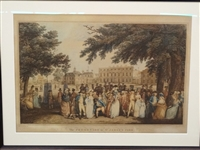 "F.D. Soiron Engraving ""The Promenade in St. James Park"""
