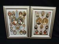 Family Trees English Royalty Lithographs Wm. Downey Queen Victoria and Albert