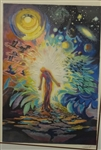 Signed Serigraph Surrealist Theme Abstract Numbered 223/295