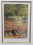 "Harold Altman Signed Lithograph ""The Path II"" 271/285"