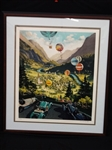 Michael Young Signed Numbered Serigraph 14/300