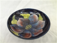 Moorcroft Pottery Shallow Bowl Paper Label