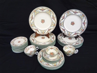 "Wedgwood China ""Ventnor"" Pattern W996: 41 Pieces"