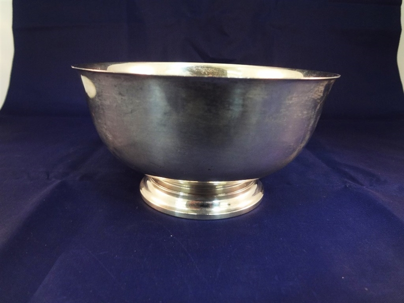 Gorham Sterling Silver Paul Revere Reproduction Footed Bowl