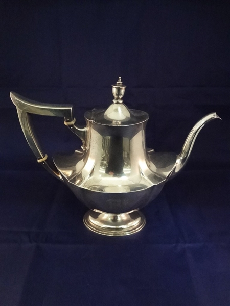 Gorham Sterling Silver Plymouth Tea Pot 2 1/4 Pint