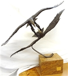 """Courtship Flight"" Mario Fernandez Large Bronze 11/250"