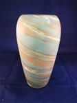 "Niloak Mission Swirl Pottery Vase 8.25"" Tall"