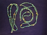 Carolyn Pollack (3) Sterling and Turquoise Necklaces