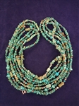 (4) Carolyn Pollack Sterling and Turquoise Necklaces