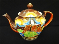 Nippon Hand Painted Tea Pot Made in Japan