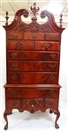 Philadelphia Chippendale Style Mahogany Highboy Northern Furniture