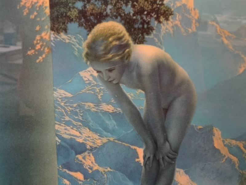 Maxfield Parrish Daybreak Lithograph The House of Art NY