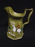 "Buffalo Pottery Deldare Ware Large Pitcher: The Fallowfield Hunt"" L. Wit"