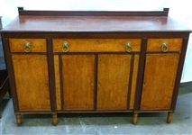Early 19th c. Cherry & Tiger Maple Sideboard