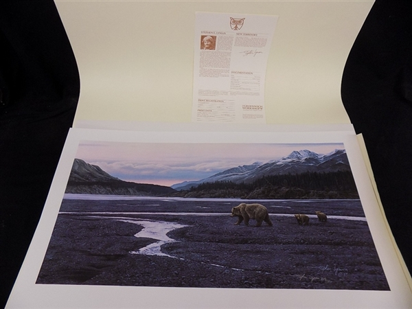 Stephen Lyman New Territory S/N Limited Edition Print