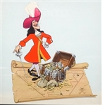 """Captain Hook"" Promotional Painting Northrop Disneyland 1982"