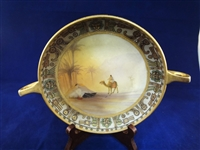 Two Handle Nippon Hand Painted Dish