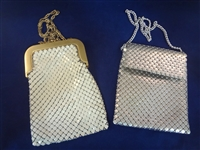 (2) Whiting and Davis Metal Mesh Purses