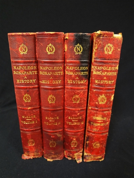 Life of Napoleon Bonaparte 4 Volumes: William Milligan Sloane 1896