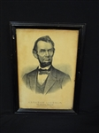 "Currier and Ives 1834-1907 ""Abraham Lincoln; The Nations Martyr"" Lithograph"