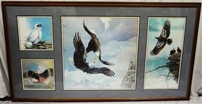 "Mario Fernandez (Cuban 1946-2012) ""Story of the Eagle"" Signed Lithograph"