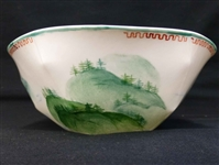 Lightscape Nymphenburg Cereal Bowl Painted w Label