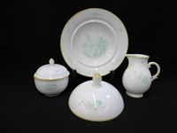 Alfred Hagel Nymphenburg Art Deco Serving Pieces