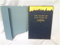 """The Glory of New York"" Joseph Pennell, Signed by Authors Wife Elizabeth of 350 Published 1926"