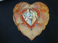 Collection of 50 c. 1850s Vintage Valentine Cards