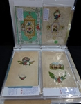 30 Valentine Cards & Envelopes from the mid 1800s