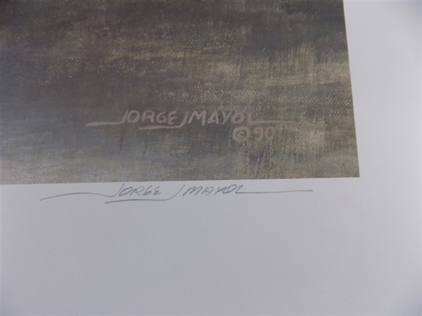 Distant Call Wolves Jorge Mayol Limited Edition Print