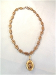 Victorian Gold Filled Fancy Necklace with Attached Locket Pendant
