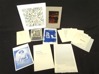 Collection of 1960s Modern Art Ephemera and Works