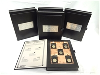 State Quarter Zippo Lighter Collection in Display Boxes: 25 Zippos in All