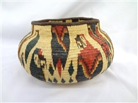 Wounaan Indians Darien Rainforest Panama Parrot Basket