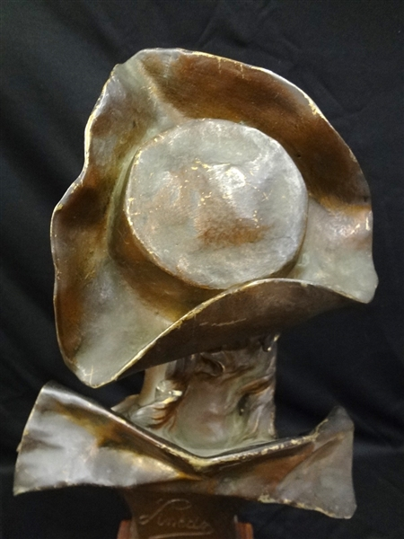 Emily Pinedo Floreal Bronzed Metal Sculpture