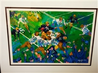 "LeRoy Nieman Signed and Numbered Serigraph 279/300 ""Army Navy Game"""