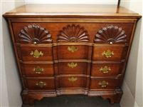 Chippendale Block Front Dresser
