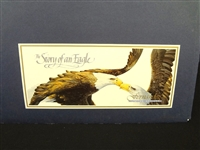 "Mario Fernandez Lithograph ""The Story of the Eagle"""