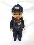 Buddy Lee Doll Engineer Denim With Original Clothes