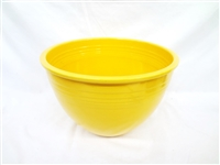 Fiesta Ware Yellow Number 7 Mixing Bowl
