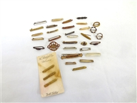 (34) Victorian Miniature Bar Brooches