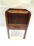 English Period Tambor Door Commode