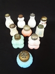 (10) EAPG and Consolidated Glass Salt Shakers