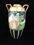 Oscar & Edgar Gutherz Royal Austria Massive Center Table Vase