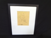 Jean Cocteau(French 1889-1963)  Original Drawing
