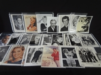 (34) Hollywood Autographed Photographs