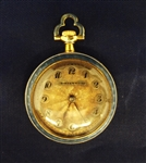 Tiffany & Co. 18k Gold and Guilloche Enamel Ladies Pocket Watch