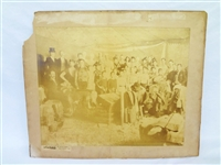 The Great Wallace Show Circus Photograph San Francisco 1855