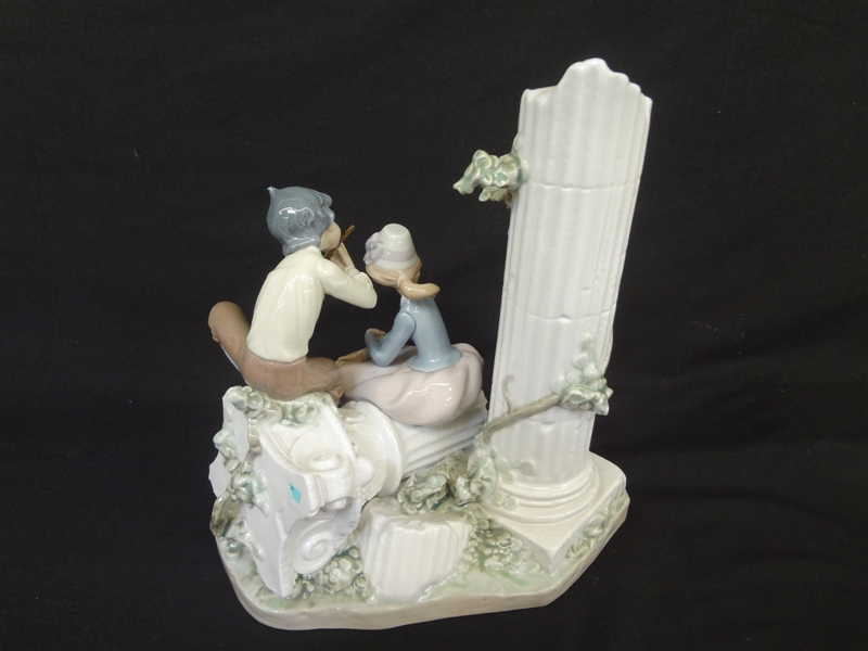Lladro Lover's Serenade Antonio Ramos Retired 1989